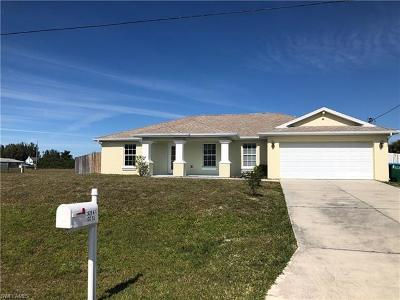 Cape Coral Single Family Home For Sale: 2629 NW 9th St
