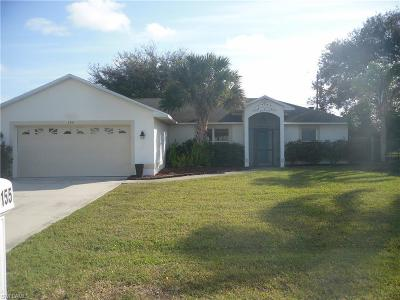 Cape Coral FL Single Family Home For Sale: $194,900