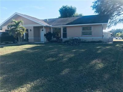 Cape Coral FL Single Family Home For Sale: $189,900
