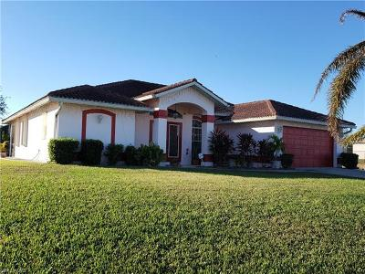Cape Coral FL Single Family Home For Sale: $348,900