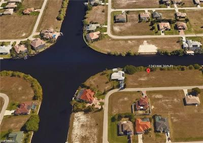 Cape Coral Residential Lots & Land For Sale: 1243 NW 36th Place