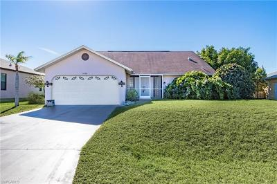 Cape Coral Single Family Home For Sale: 3236 NW 14th Ter