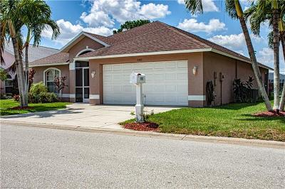 North Fort Myers Single Family Home For Sale: 9392 Palm Island Cir