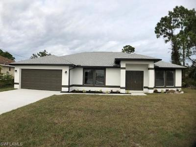 Lehigh Acres Single Family Home For Sale: 4112 3rd St SW