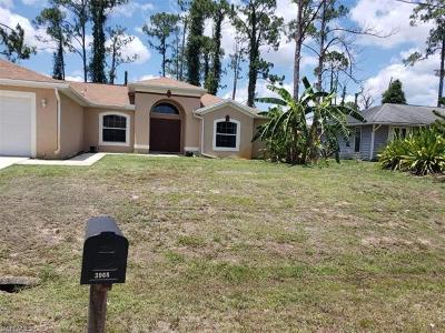 Lehigh Acres Single Family Home For Sale: 3908 3rd St W