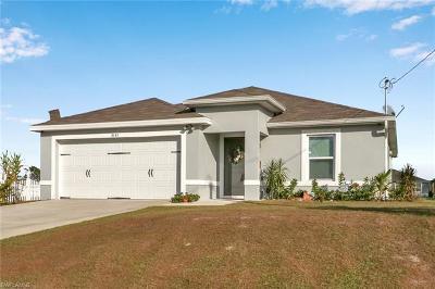 Cape Coral Single Family Home For Sale: 3131 NE 13th Pl