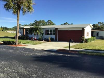 North Fort Myers Single Family Home For Sale: 10061 Pine Lakes Blvd
