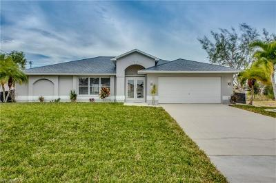 Cape Coral Single Family Home For Sale: 5236 SW 20th Ave