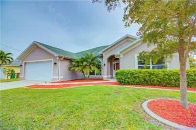 Cape Coral Single Family Home For Sale: 3321 SW 26th Pl