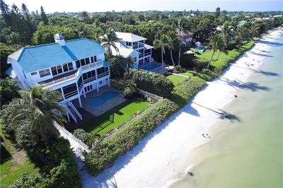 Sanibel FL Single Family Home For Sale: $3,795,000