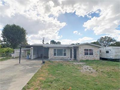 North Fort Myers Single Family Home For Sale: 649 Canal Dr