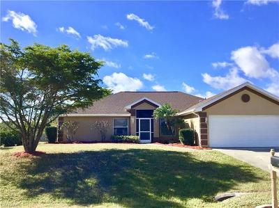 Lehigh Acres Single Family Home For Sale: 2409 Crawford Ave N