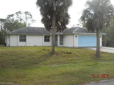 Lehigh Acres Single Family Home For Sale: 616 Sheldon Ave
