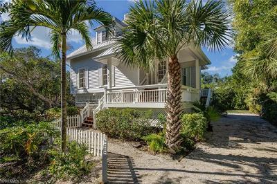 Sanibel FL Single Family Home For Sale: $815,000