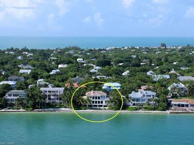 Sanibel FL Single Family Home For Sale: $2,999,999