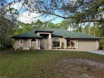 North Fort Myers Single Family Home For Sale: 19241 Ethel Dr