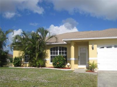 Cape Coral Single Family Home For Sale: 1513 SW 30th St