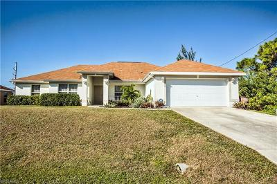 Cape Coral Single Family Home For Sale: 1920 NW 24th Ave
