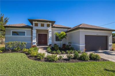 Cape Coral Single Family Home For Sale: 2321 NW 36th Pl