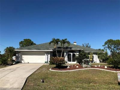 Cape Coral Single Family Home For Sale: 2213 SW 32nd St
