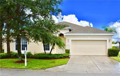 North Fort Myers Single Family Home For Sale: 9292 Palm Island Cir