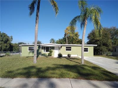 Fort Myers Single Family Home For Sale: 1355 Floral Dr