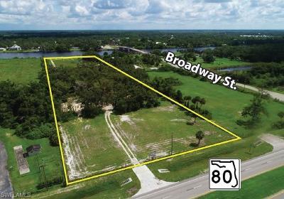 Alva Residential Lots & Land For Sale: 21211 Palm Beach Blvd
