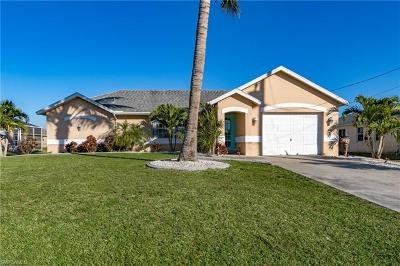 Cape Coral Single Family Home For Sale: 2721 SW 22nd Pl