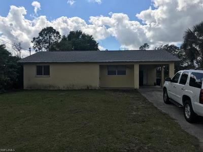 Lehigh Acres Single Family Home For Sale: 3407 41st St SW