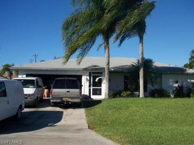 Cape Coral Single Family Home Pending With Contingencies: 404 SE 13th Ave