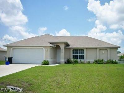 Lehigh Acres Single Family Home For Sale: 2811 48th St W