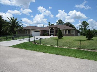 Lehigh Acres Single Family Home For Sale: 2500 50th St W