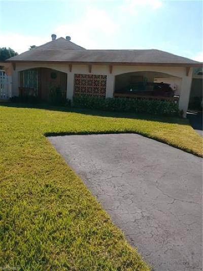 Lehigh Acres Condo/Townhouse For Sale: 322 Joel Blvd