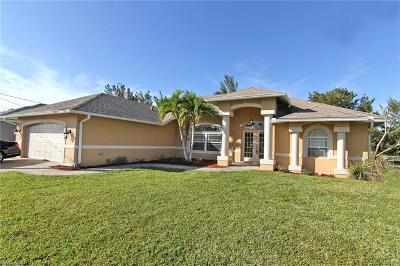 Cape Coral FL Single Family Home For Sale: $318,000