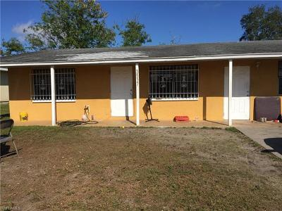Fort Myers Single Family Home For Sale: 3537 South St