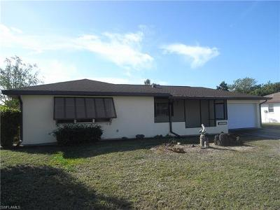 Cape Coral Single Family Home Pending With Contingencies: 1418 SE 17th St