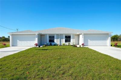Cape Coral Multi Family Home For Sale: 801/803 SW 8th Pl