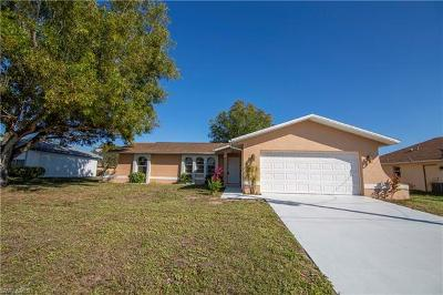 Cape Coral FL Single Family Home For Sale: $195,000