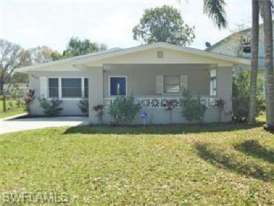Fort Myers FL Single Family Home For Sale: $189,000