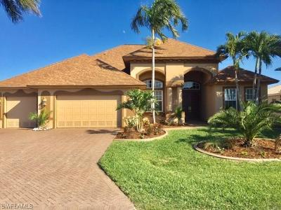 Cape Coral, Fort Myers, Fort Myers Beach, Estero, Bonita Springs, Naples, Sanibel, Captiva Single Family Home For Sale: 5229 SW 24th Pl