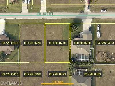 Lee County Residential Lots & Land For Sale: 1908 NW 1st St