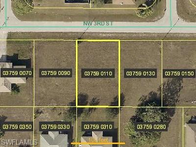 Lee County Residential Lots & Land For Sale: 1706 NW 3rd St