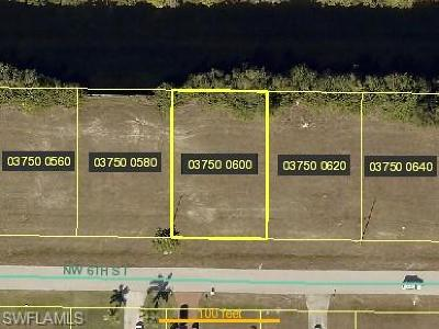 Lee County Residential Lots & Land For Sale: 2037 NW 6th St