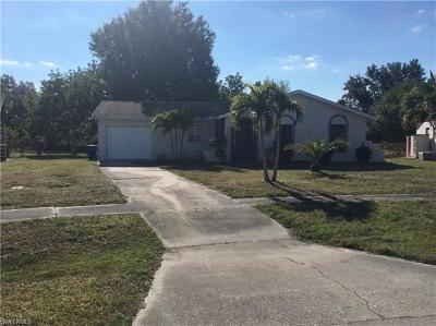 North Fort Myers Single Family Home For Sale: 935 Hearty St