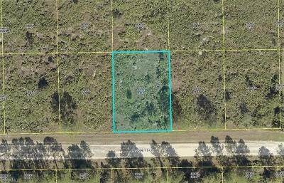 Lee County Residential Lots & Land For Sale: 1121 Croquet St E