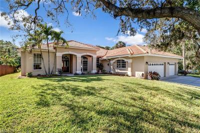 Bonita Springs Single Family Home For Sale: 10950 Mabizz Dr