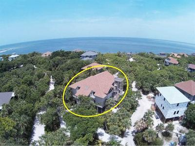 Captiva, Sanibel Single Family Home For Sale: 460 Gulf Bend Dr #10