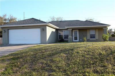 Cape Coral FL Single Family Home For Sale: $194,900