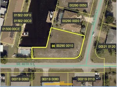 Cape Coral Residential Lots & Land For Sale: 4558 SE 6th Ct