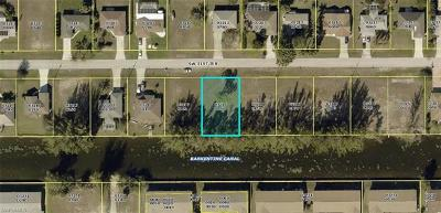 Cape Coral Residential Lots & Land For Sale: 834 SW 31st Ter